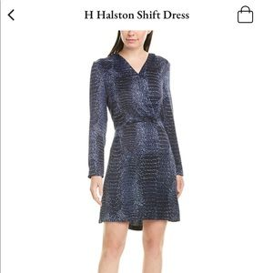 NWT H Halston Shift Dress
